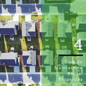 maintaining rental properties